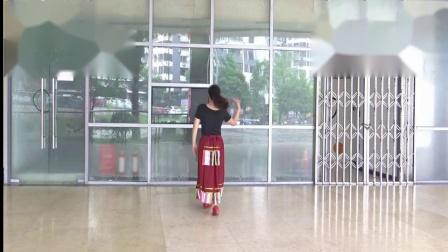 重庆叶子广场舞 纳木错的眼泪 背面