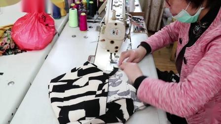 7、一步裙合摆缝、熨烫、拆后叉、上腰