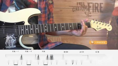 【练习36】重金属节奏吉他第二册练习示范