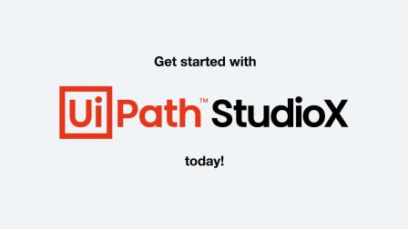 UiPath 视频| StudioX,无需代码开发的自动化开发工具