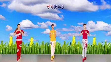 朱晓敏原创跳跳乐健身舞网红歌曲《汁哆腊多》_标清