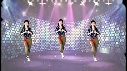 彼岸花动感广场舞《你莫走》64步火爆网络网红舞附教学