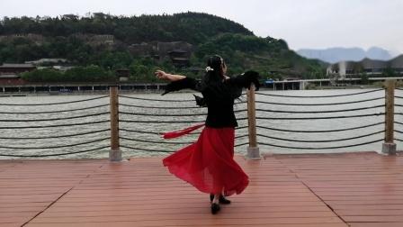 习作舞蹈《我的祖国》1