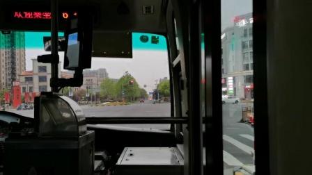 【浦东上南】浦江4路公交车(W7B-090 备车代车)(江龙路浦申路-芦恒路枢纽站下客站)全程_高清