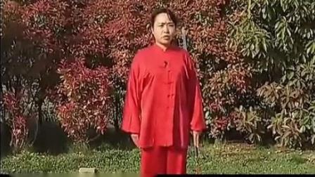 陈氏太极单剑教学[42-44式] 郑冬霞