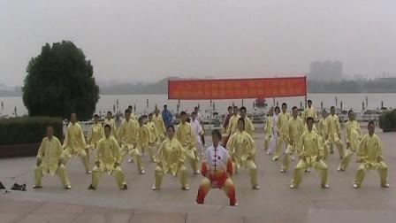 永丰站点代表队表演健身气功八段锦