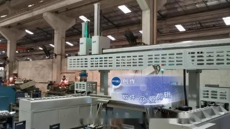 长桁架式机械手应用外圆磨床磨电机转子