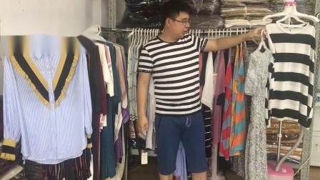 梵莱尼6-10期夏季杂款女装尾货款式展示