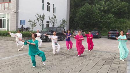 空山晨练杨式太极拳(领练:饶华).mp4