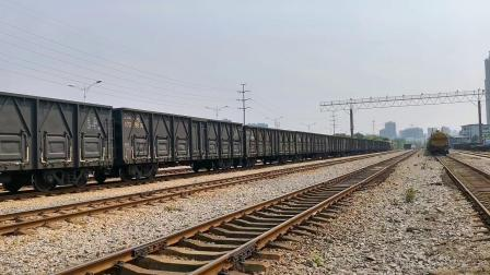 【火车视频集锦】余家村站的上午