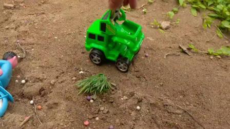 遥控器变出复仇者联盟和汽车、自行车玩具,婴幼儿宝宝游戏视频