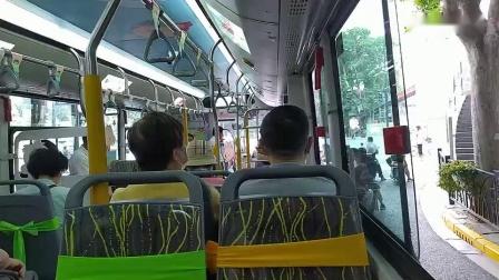 【巴士二公司】49路公交车(S2Y-0305大耳朵图图六一专车)肿瘤医院--汉口路江西中路A_高清
