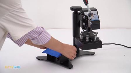 热转印机小型烫画机12*12烫标机印标机diy服装压烫机印logo烫唛机