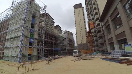去看看建设中的碧桂园西南上城观山府二期工地现场