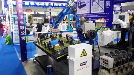 弧焊机器人及变位机