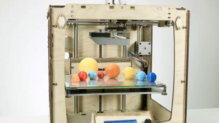 【Ultimaker盘点赏析】趣课堂:3D打印太阳系