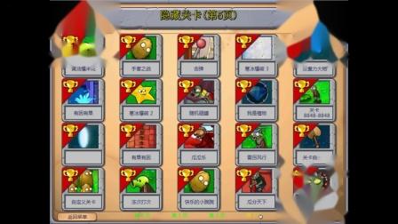 植物大战僵尸beta(β)6.05中文版 隐藏关卡:镜面模式