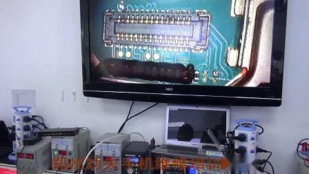 OPPOA57屏灯不亮维修实例