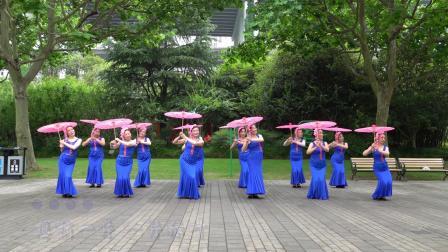 傣族伞舞《让我听懂你的语言》12人队形