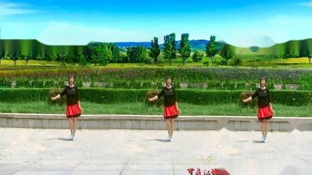 美玲玉广场舞《爱疯了》编舞:雪妹