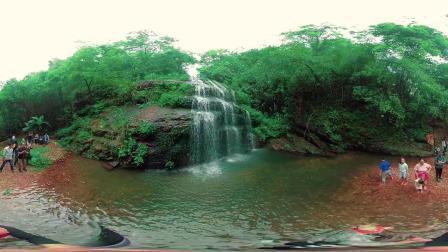 广西柳州鹿寨拉沟小瀑布