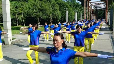 台州辅导站演绎中国新时代第五套有氧健身操