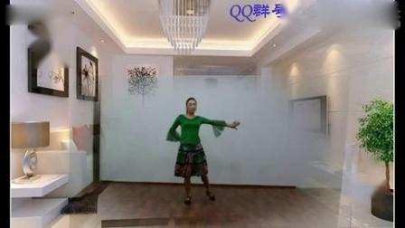 舞之梅广场舞【等待】附动作分解和背面演示