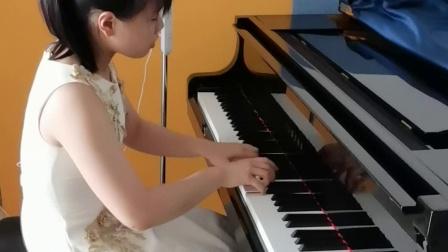 Liu Yuhan-Ravel-Sonatine, M.40 - for Piano-Animé