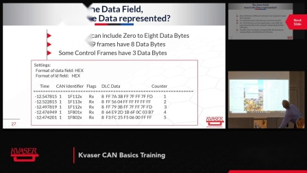 """CAN基础培训""""揭开CAN之谜""""(The datafield, the DBC field, scaling and offsets)第八部分"""