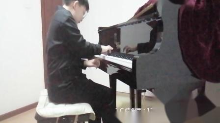 C.德彪西:12首钢琴练习曲No.7半音练习