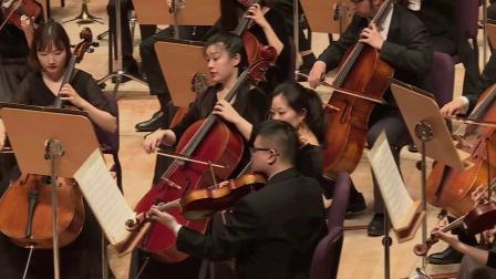 布鲁克纳 第五交响曲 第三乐章 谐谑曲 非常活跃 快板