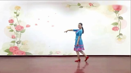 応子广场舞黄玫瑰(新版)正反面含教学江西灵动飞舞队团队正面