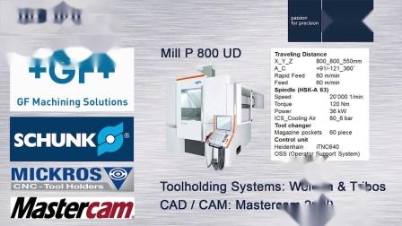 Smart range structure for high-performance milling_FRAISA_E-Cut.mp4