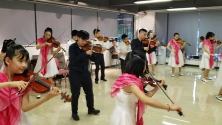 我和我的祖国 合奏排练   高效弦琴中心