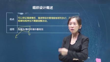 2020中级经济师【人力资源管理】组织设计概述(五)