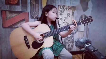 一年级小朋友吉他弹唱周杰伦新歌《Mojito》