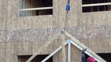 自动吊钩远程卸装胶合板2| 智能吊装解决方案 | elebia