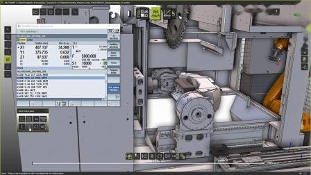 数字化双胞胎案例 (KUKA库卡)- 使用 FASTSUITE 进行虚拟调试 Machine Tending Digital Twin