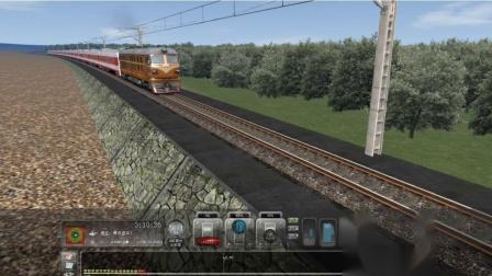 和谐中国模拟火车视频集兰新线DF4B快速列车