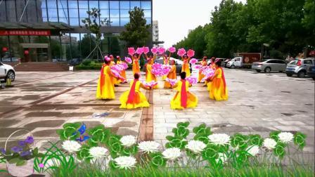 昌乐秀玲舞蹈队《祝福祖国》