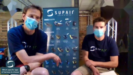 Supair Live-How choose your harness