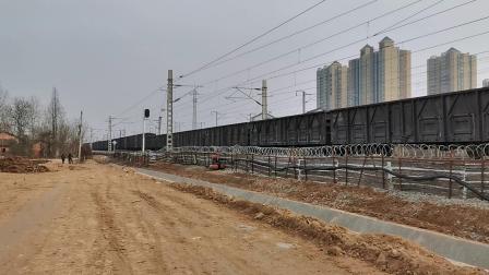 20200116 142029 阳安线HXD2货列通过汉中站