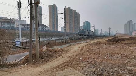 20200116 143548 阳安线HXD2单机出汉中站