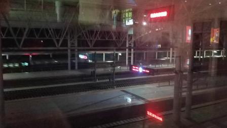 【火车视频】7.1调图后首趟改走铜九线的K33(苏州—深圳)跨越铜陵站