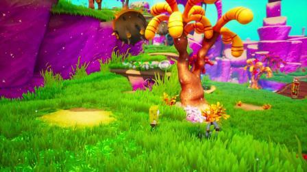 【老然】《海绵宝宝比奇堡的冒险》娱乐试玩解说!