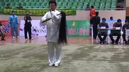 2004年全国传统武术交流大会 男子器械一 001 佛尘 齐玉华(天津)