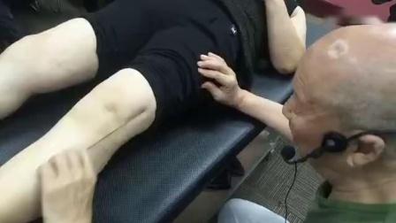 达摩正骨圆利针治疗膝盖膝关节疼痛手法教学实操_标清
