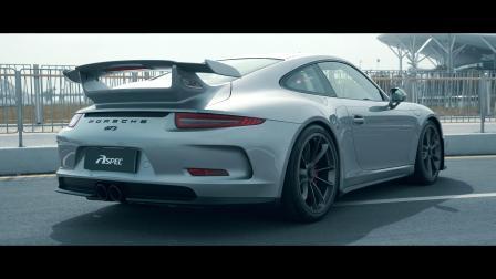Porsche保时捷 GT3 911 ASPEC排气系统精彩视频.mp4