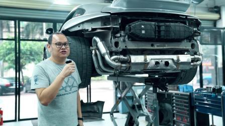 Porsche保时捷 GT3 911 ASPEC排气系统安装视频.mp4