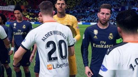 FIFA 20 2020-07-04皇马vs瓦伦西亚